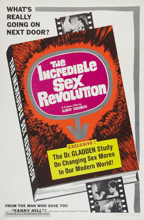 The Incredible Sex Revolution - Movie Poster