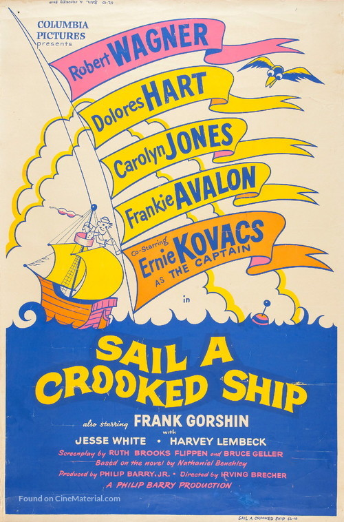 Sail a Crooked Ship - Movie Poster