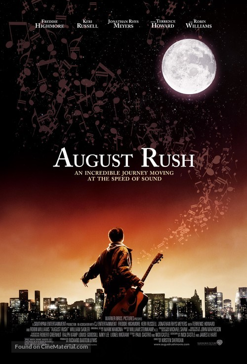 August Rush - Theatrical movie poster