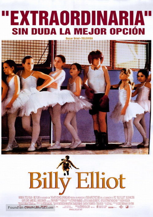Billy Elliot - Mexican Movie Poster