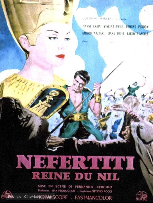 Nefertiti, regina del Nilo - French Movie Poster