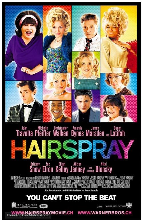 Hairspray - Swiss Movie Poster