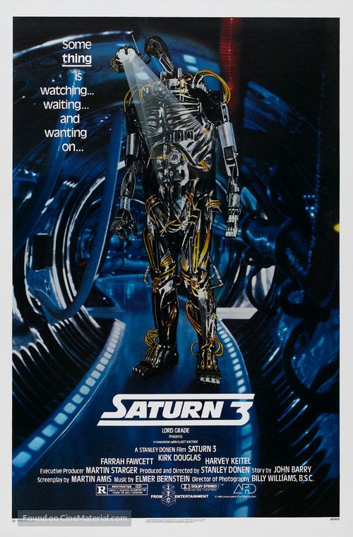 Saturn 3 - Theatrical movie poster