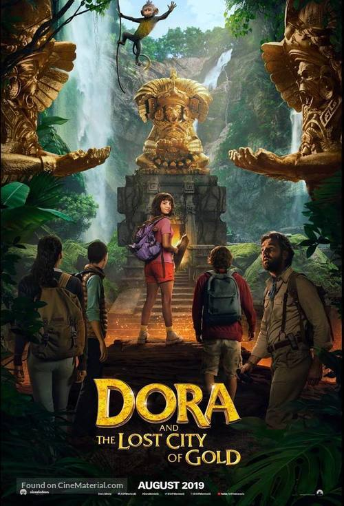 Dora and the Lost City of Gold - Indonesian Movie Poster