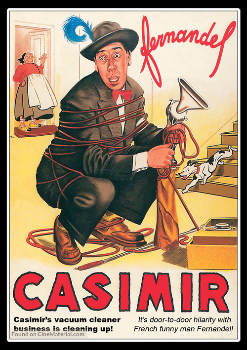 Casimir - French DVD movie cover