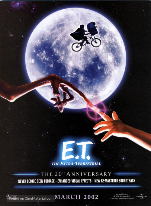 E.T.: The Extra-Terrestrial - Re-release poster
