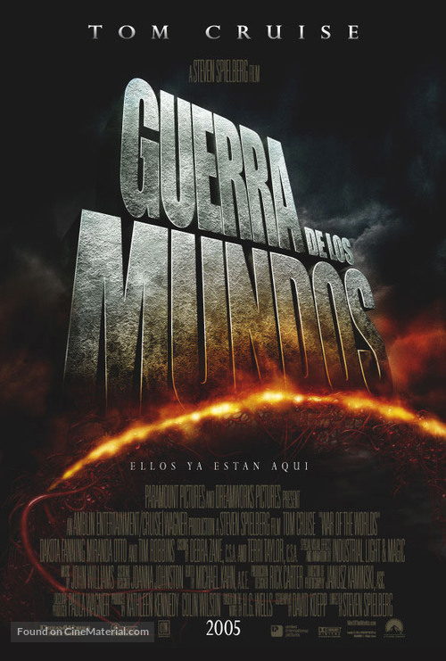 War of the Worlds - Argentinian Movie Poster
