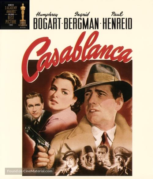 Casablanca - Blu-Ray movie cover