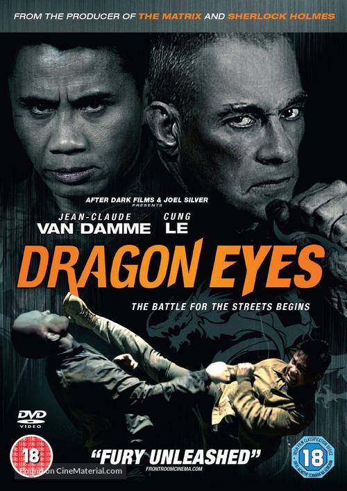 Dragon Eyes - British Movie Cover
