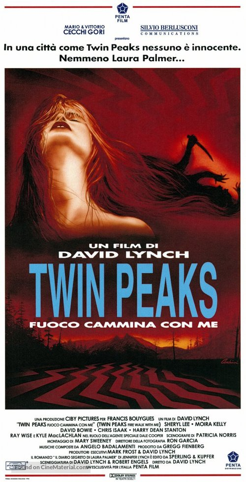 Twin Peaks: Fire Walk with Me - Italian Movie Poster