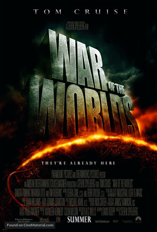 War of the Worlds - Theatrical movie poster