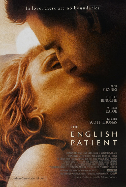 The English Patient - Movie Poster