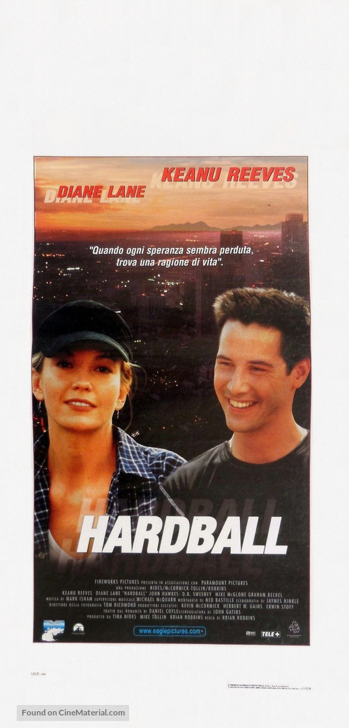 Hard Ball - Italian Movie Poster