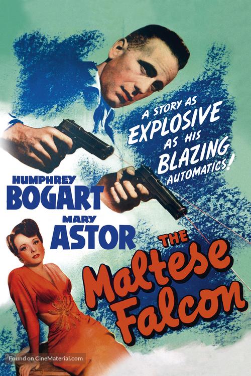 The Maltese Falcon - Movie Cover