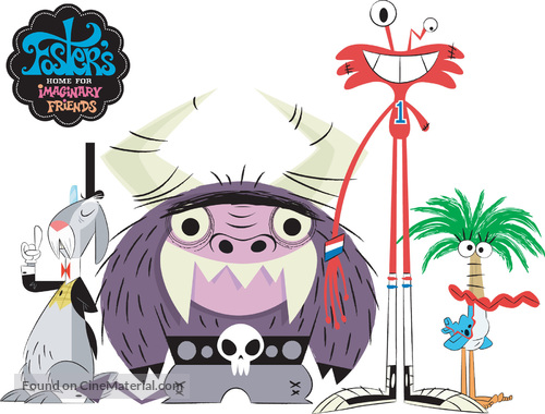 """""""Foster's Home for Imaginary Friends"""" - poster"""