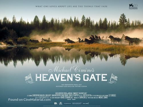 Heaven's Gate - British Movie Poster