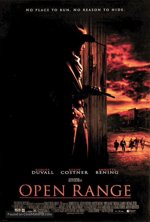 Open Range - Theatrical movie poster