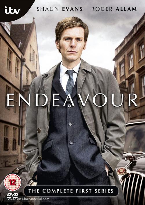 """Endeavour"" - British DVD movie cover"