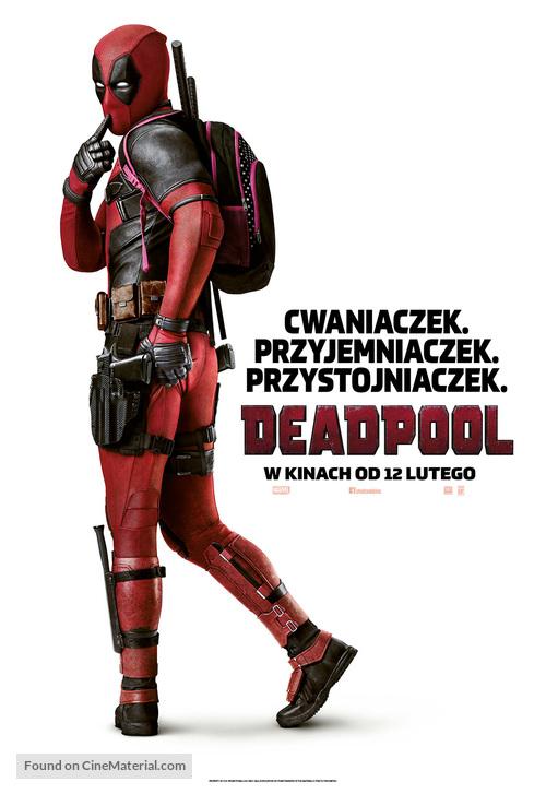 Deadpool - Polish Movie Poster