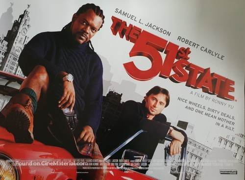 The 51st State - British Movie Poster