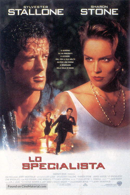 The Specialist - Italian Movie Poster