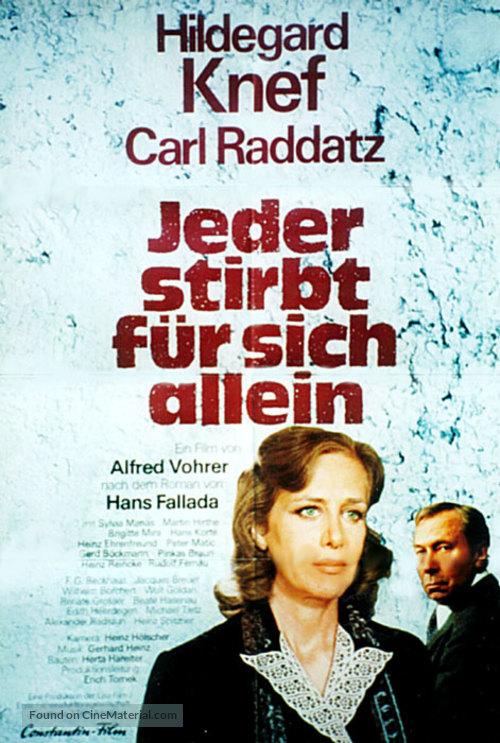 Jeder stirbt für sich allein - German Movie Poster