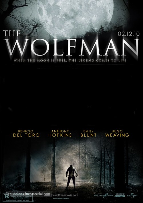 The Wolfman - Movie Poster