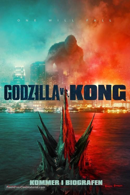Godzilla vs. Kong - Danish Movie Poster