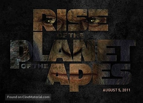 Rise of the Planet of the Apes - Movie Poster