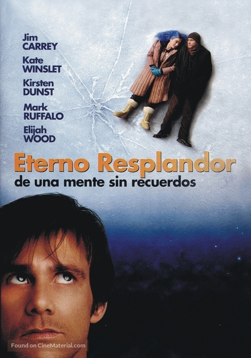Eternal Sunshine of the Spotless Mind - Argentinian Movie Cover