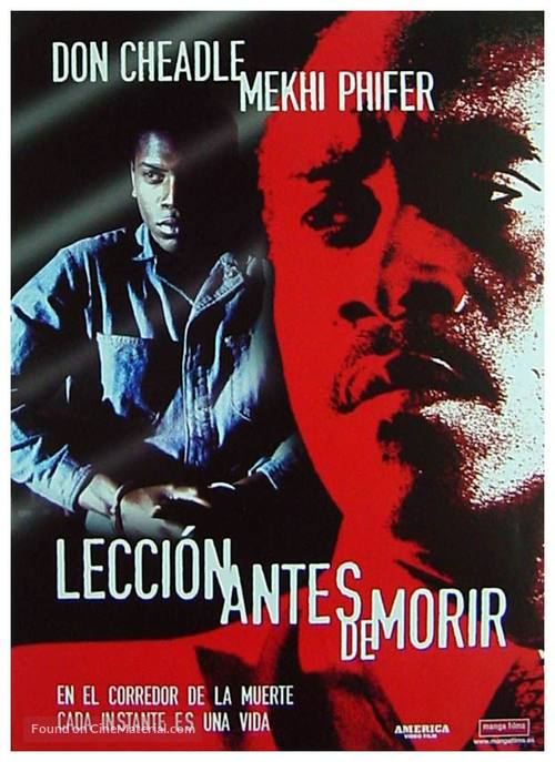 A Lesson Before Dying - Spanish poster