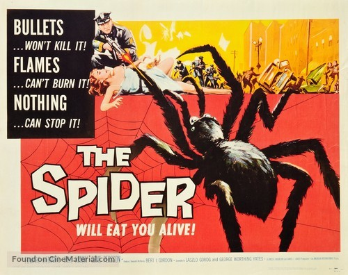 Earth vs. the Spider - Movie Poster