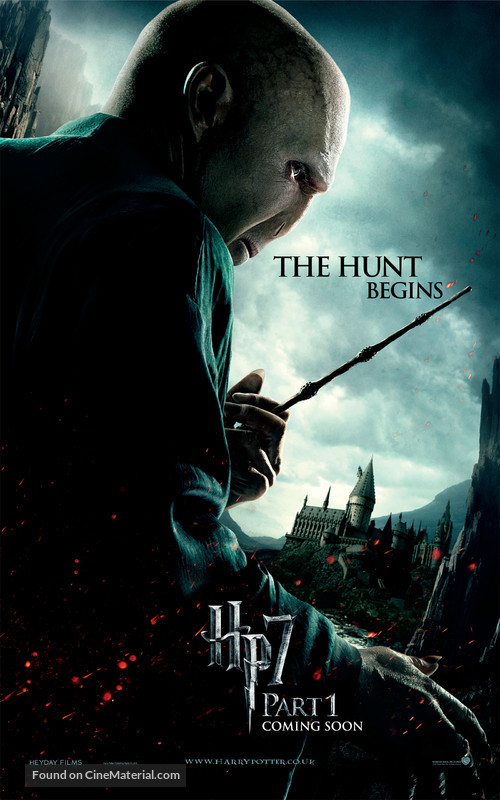 Harry Potter and the Deathly Hallows: Part I - British Movie Poster