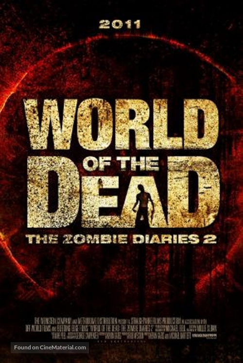 World of the Dead: The Zombie Diaries - British Movie Poster