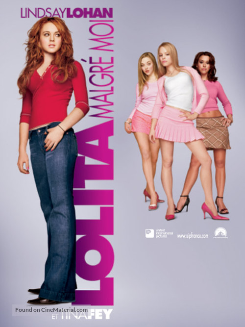 Mean Girls - French Movie Poster