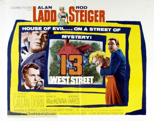 13 West Street - British Movie Poster