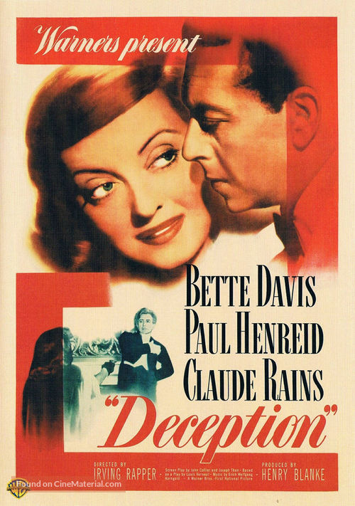 Deception - DVD movie cover