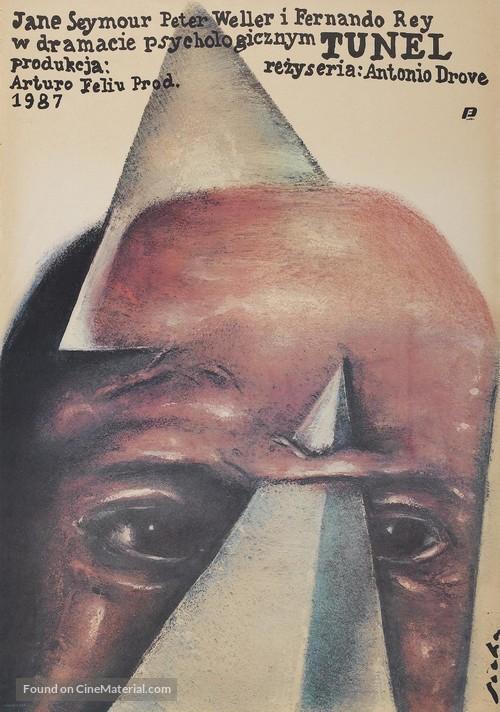 El túnel - Polish Movie Poster