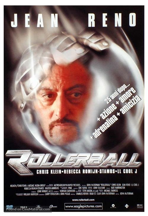 Rollerball - Italian Movie Poster