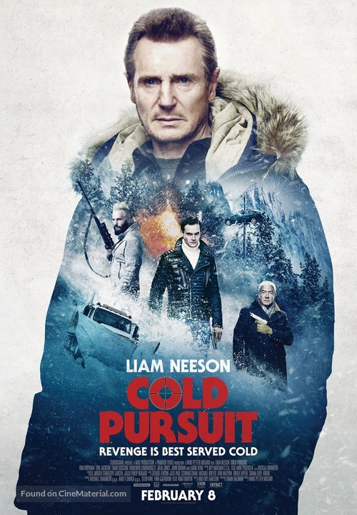 Cold Pursuit - Canadian Movie Poster