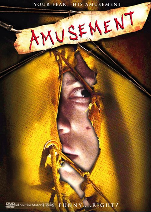 Amusement - DVD movie cover