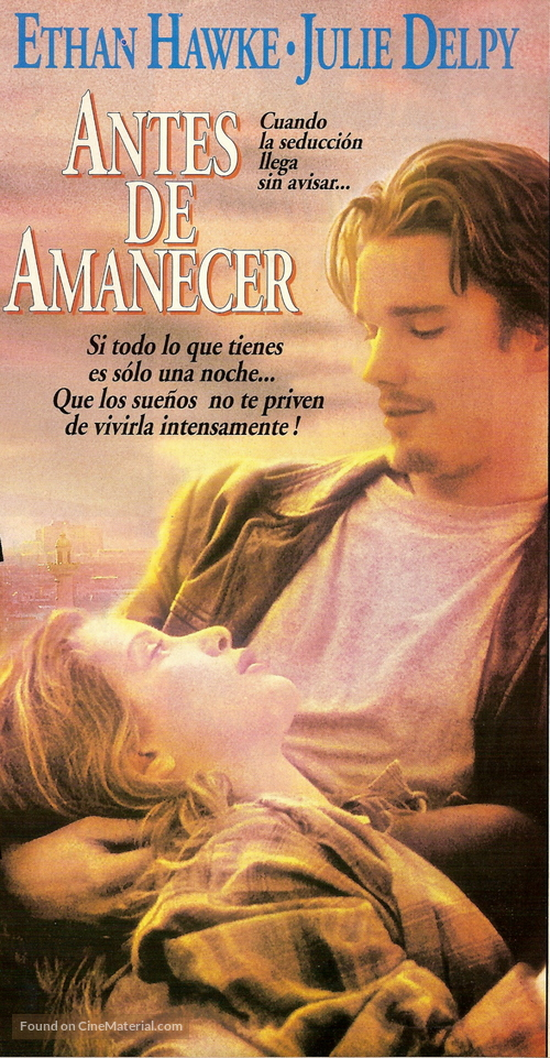 Before Sunrise - Argentinian Movie Cover