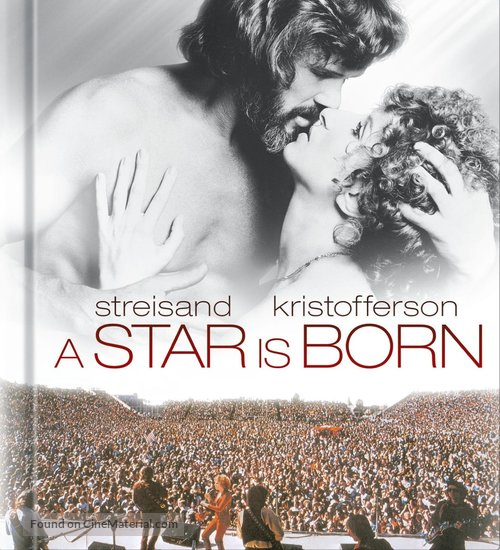 A Star Is Born - Blu-Ray movie cover