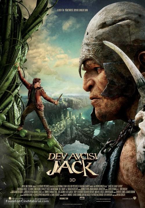 Jack the Giant Slayer - Turkish Movie Poster