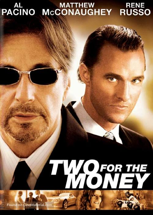 Two For The Money - DVD movie cover