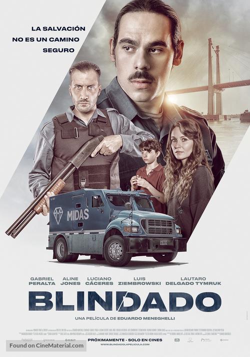 Blindado - Argentinian Movie Poster