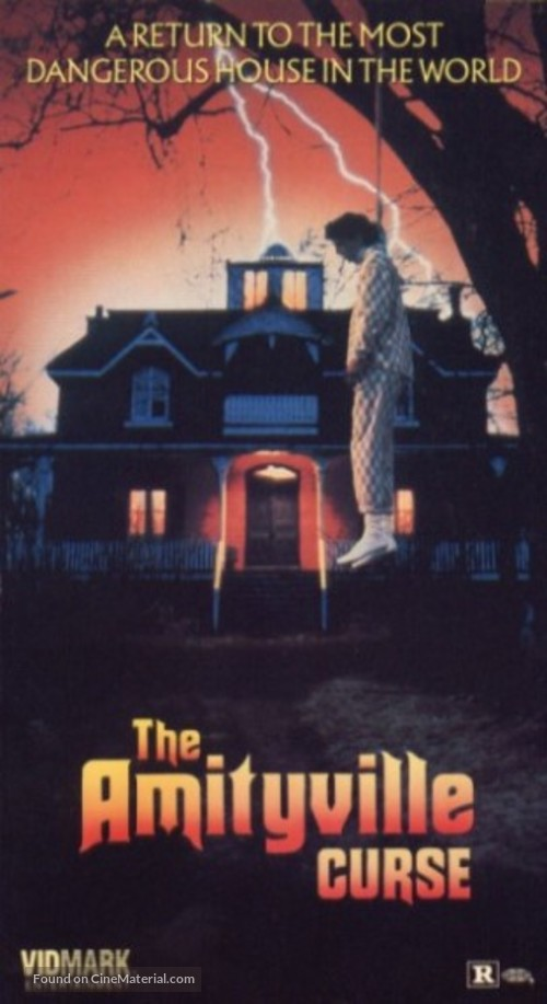 The Amityville Curse - VHS movie cover