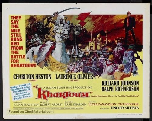 Khartoum - British Movie Poster