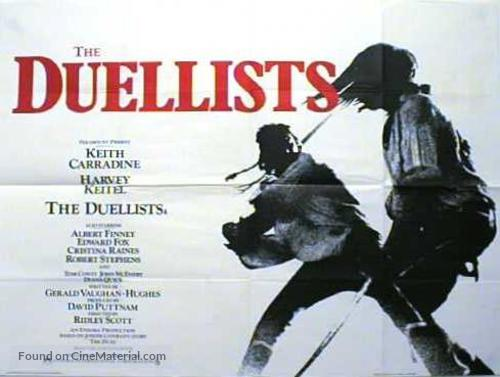 The Duellists - British Movie Poster