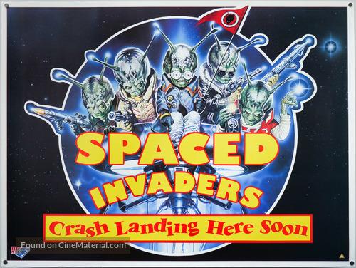 Spaced Invaders - British Movie Poster